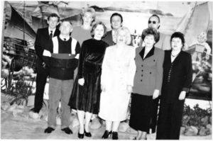Коллектив кафедры в 1997/1998 учебном году