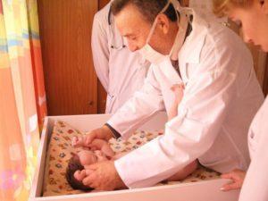 Профессорский обход в областном специализированном доме ребенка №2
