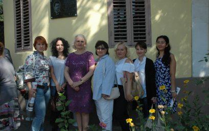 Открытие мемориальной доски Ф.Г. Фарманову