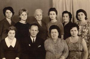 Коллектив кафедры общей гигиены 1968 год