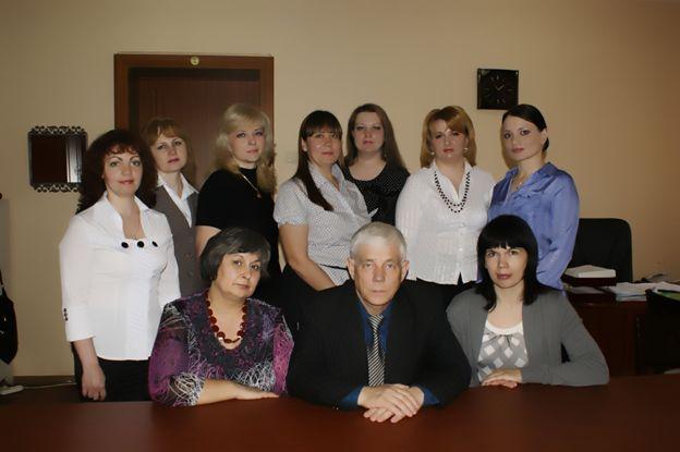 Коллектив кафедры педиатрии лечебного факультета в 2012 году