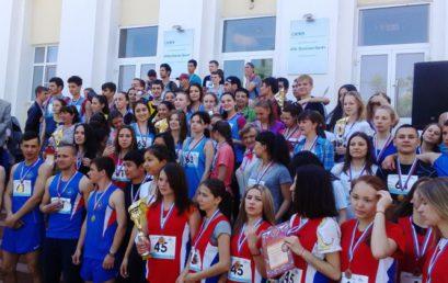 Легкоатлетическая эстафета, посвященная 71 годовщине Победы в Великой Отечественной Войне
