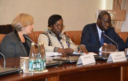 4 октября в малом зале администрации губернатора Астраханской области под председательством К.А. Маркелова состоялась встреча дипломатов из Бенина, Гвинеи и Буркина-Фасо