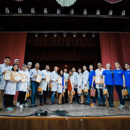 Первая международная олимпиада по анатомии.