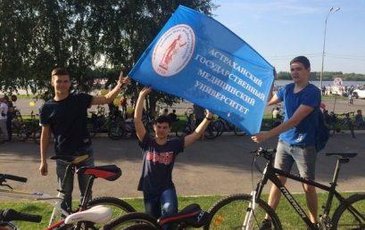 Велопарад, посвященный годовщине Победы