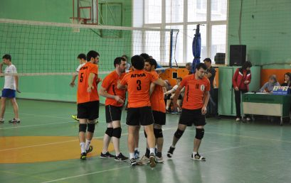 Чемпионат муниципального образования «Город Астрахань» по волейболу среди мужских команд