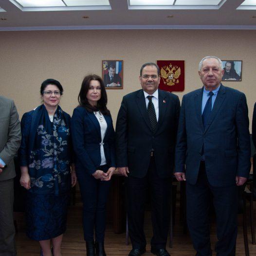 Посол Королевства Бахрейн посетил Астраханский ГМУ