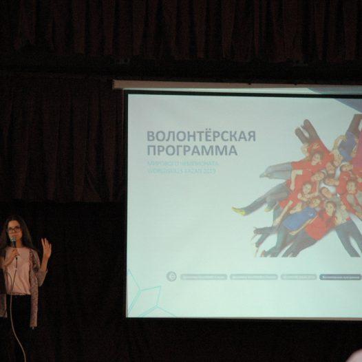Консультация по волонтёрской программе WorldSkills