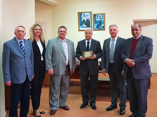 Встреча с директором департамента по признанию иностранных образовательных документов Министерства высшего образования Марокко