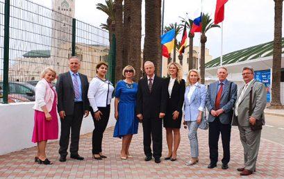 Церемония открытия международной образовательной выставки в Касабланке