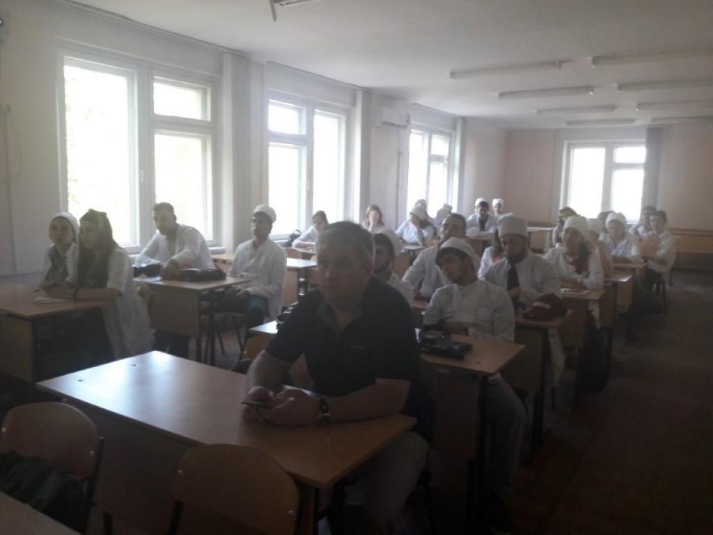 Межкафедральное заседание студенческого научного кружка