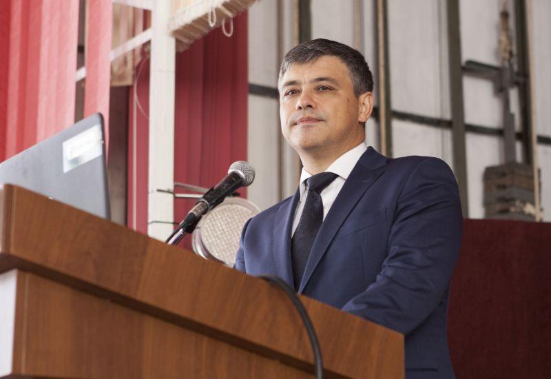 Лекция председателя Комитета Госдумы Д.А. Морозова в Астраханском ГМУ