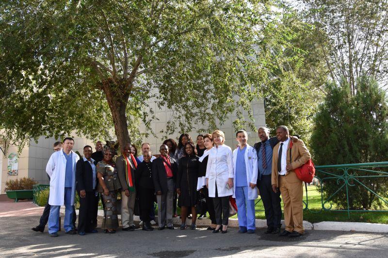 Визит делегации из Южно-Африканской Республики