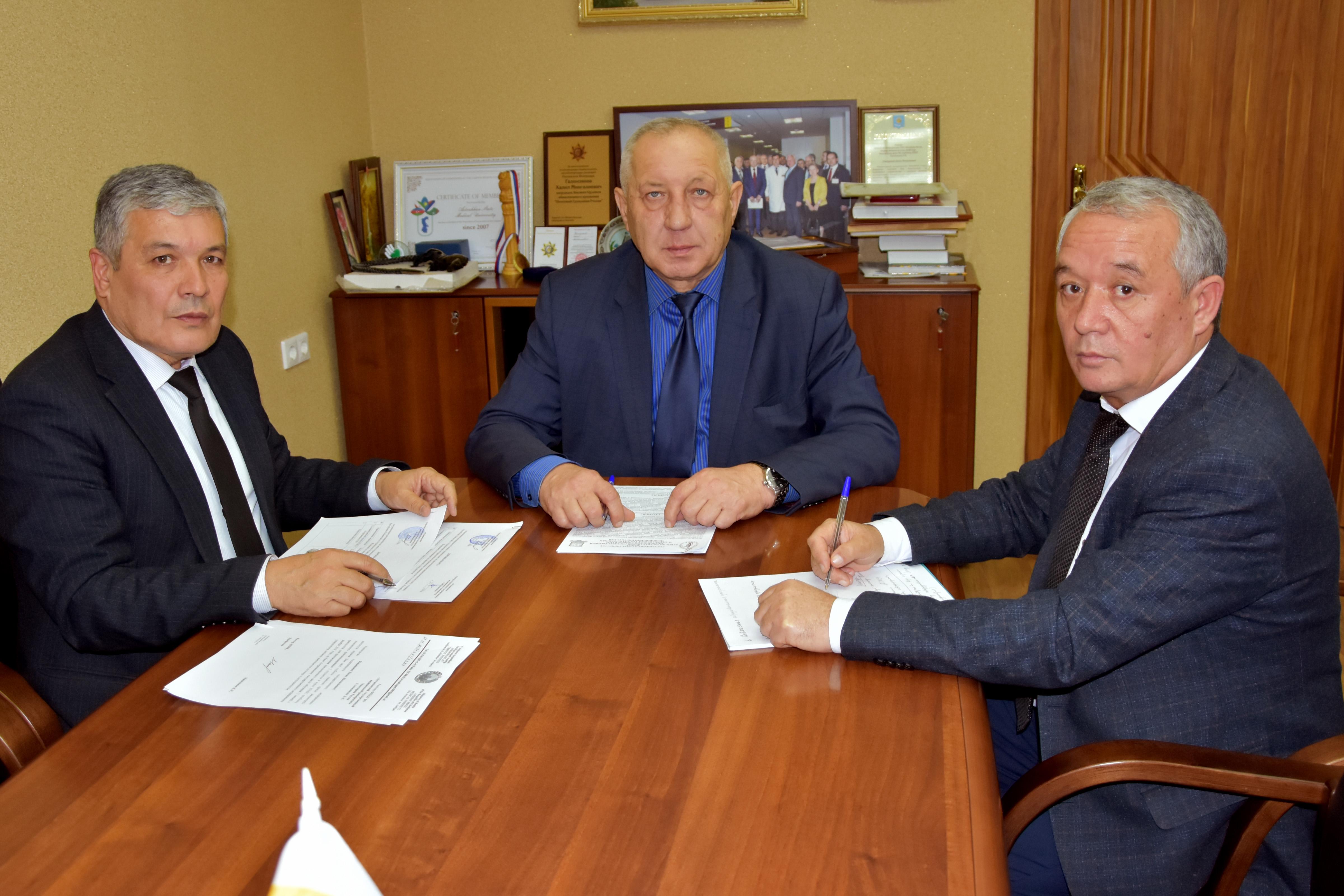 Перспективы межвузовского взаимодействия с узбекскими партнёрами