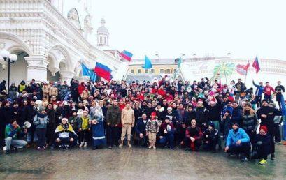 Новогодняя пробежка в Астрахани