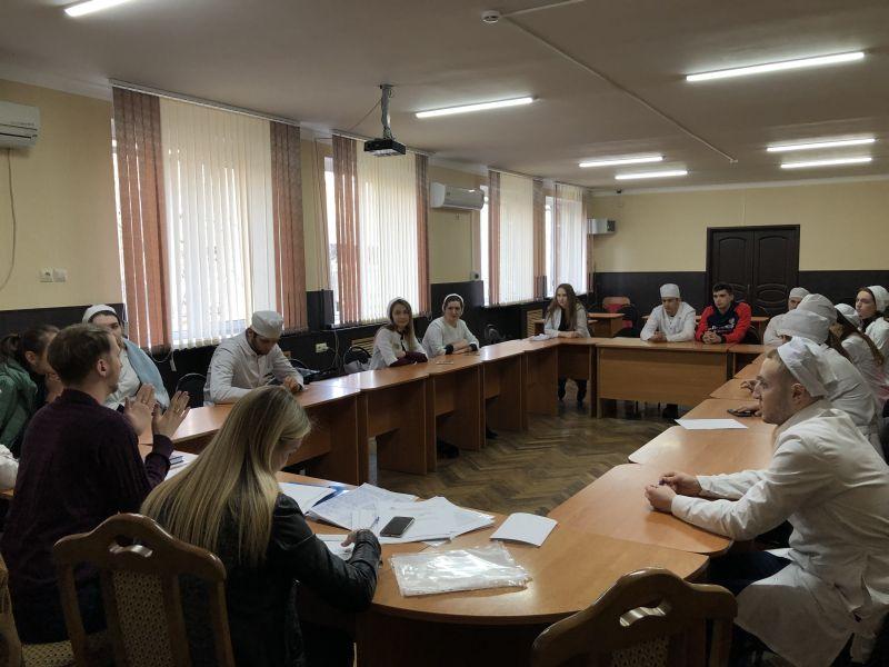 Заседание студенческого самоуправления Астраханского ГМУ