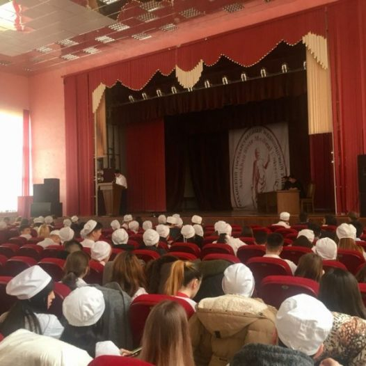 Состоялась отчётно-выборная профсоюзная студенческая конференция Астраханского ГМУ