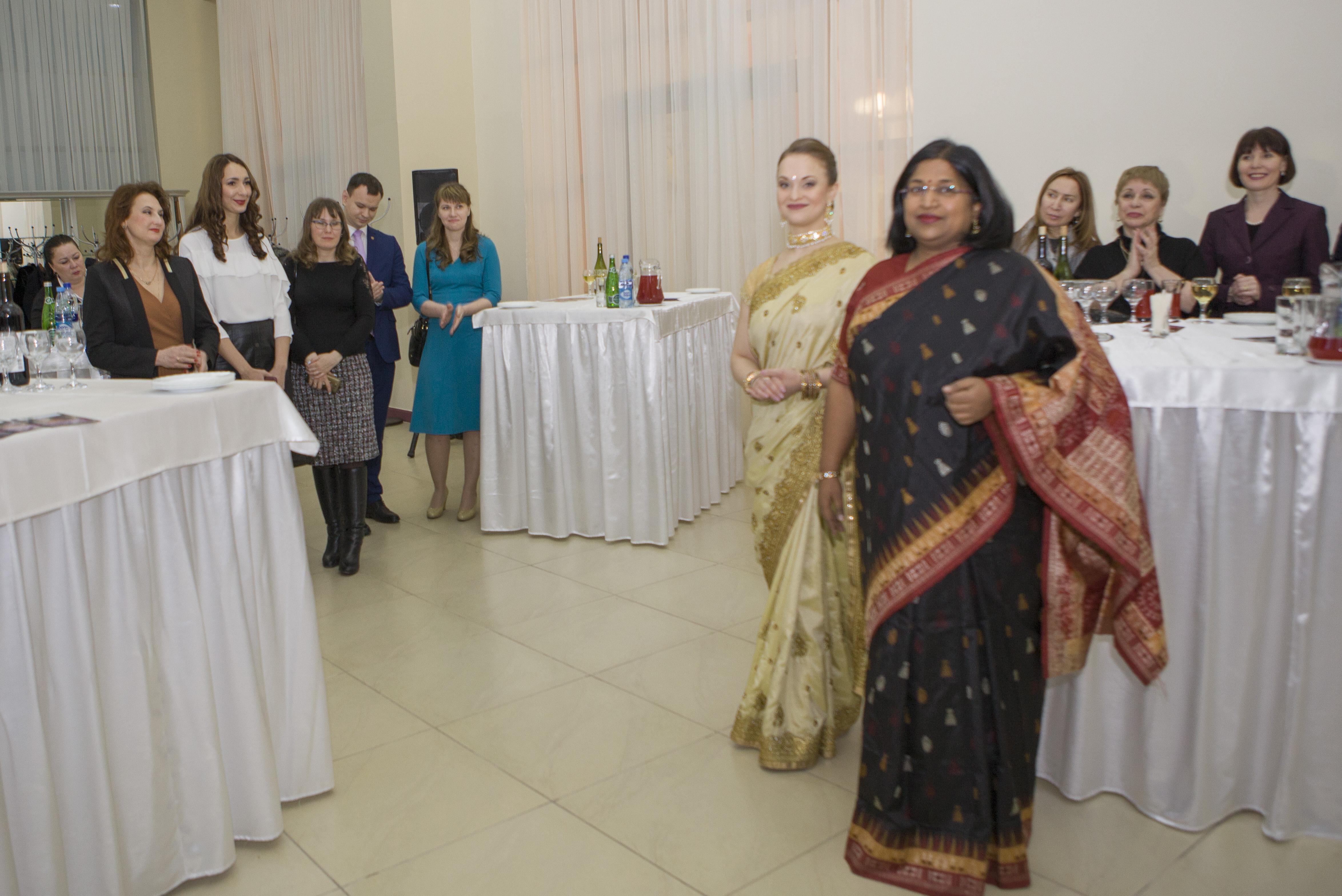 Студенты из далекой Индии прикоснулись к родной культуре