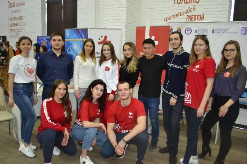 Волонтёры-медики приняли участие в коллегии Агентства по делам молодёжи Астраханской области