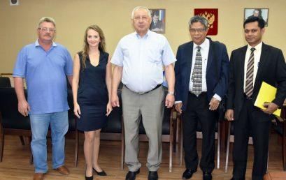 Делегация из Медицинского Совета Шри Ланки в Астраханском ГМУ
