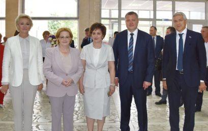 Визит министра здравоохранения Вероники Скворцовой в Астраханский ГМУ