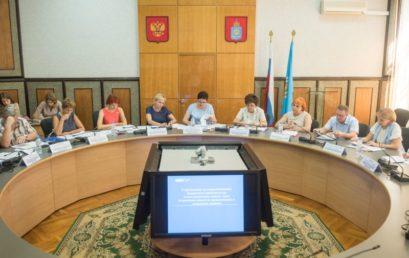 Заседание экспертного совета при комитете по здравоохранению и социальному развитию Думы Астраханской области