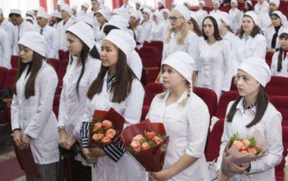Первокурсники педиатрического факультета получили первые студенческие документы!