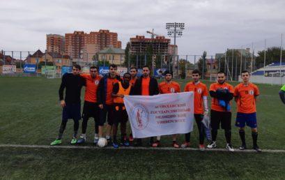 Сборная команда Астраханского ГМУ впервые принимает участие в турнире по мини-футболу