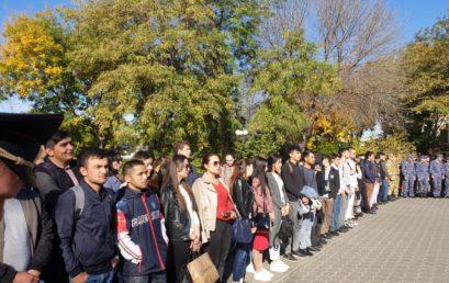 Студенты Астраханского ГМУ приняли участие в митинге