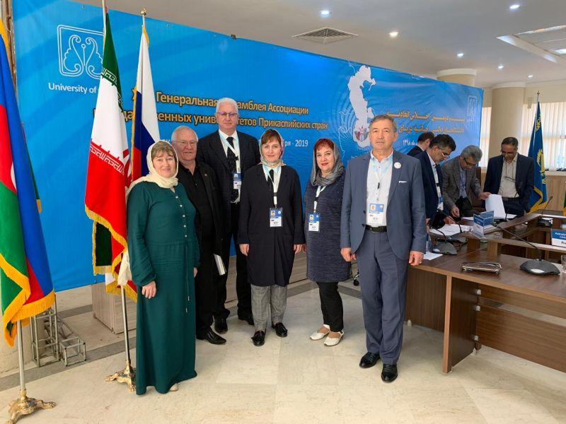 Обсуждены перспективы взаимодействия медицинских вузов в рамках Ассоциации государственных университетов Прикаспийских стран