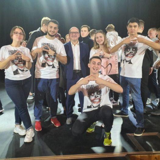 Открытие нового сезона медицинской лиги Международного союза КВН в Витебске