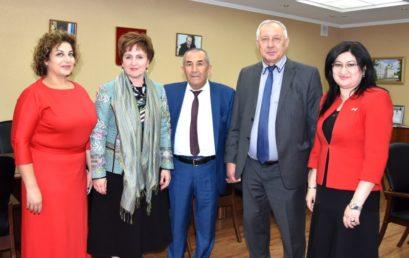 Астраханский ГМУ встречает гостей конференции Прикаспийских государств