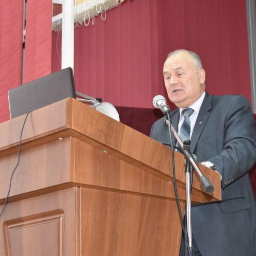 Торжественное заседание ученого совета, посвященное 101-й годовщине со дня основания университета