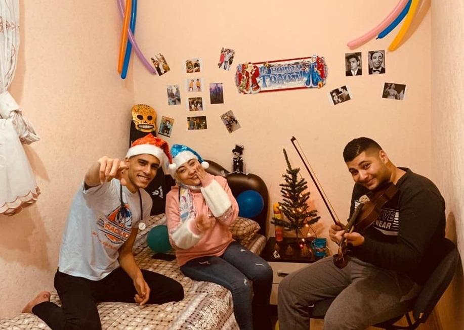 Новый год иностранного студента в России