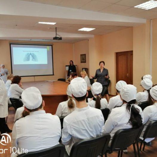 Заседание научного студенческого кружка