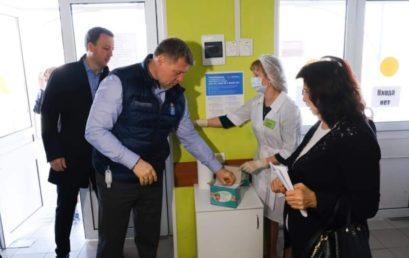 Глава региона проверил степень готовности к проведению противоэпидемических мероприятий по предотвращению распространения СOVID-19 в Астраханских больницах