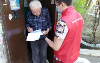 Волонтеры-медики продолжают помогать астраханцам в период пандемии Covid-19