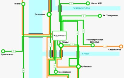 Наглядные схемы движения  дежурного транспорта в Астраханской области