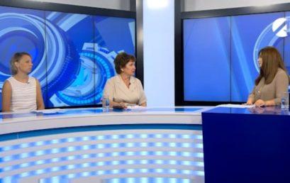 Ректор Астраханского ГМУ рассказала в прямом эфире об особенностях работы приемной комиссии
