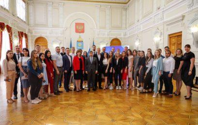 Первое заседание нового состава Молодежного правительства Астраханской области