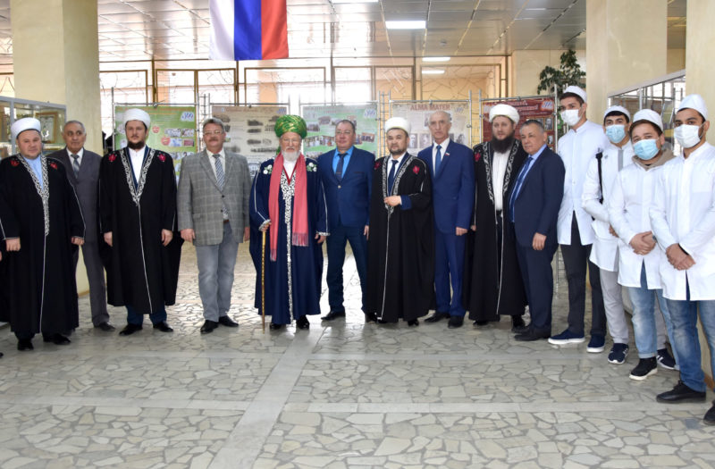 Визит председателя Центрального духовного управления мусульман России