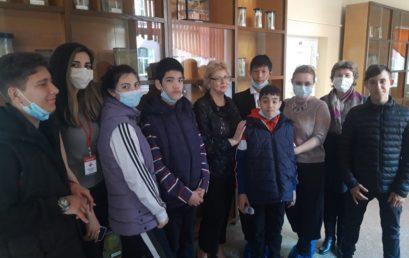 Экскурсия для детей-сирот прошла в музее анатомии Астраханского ГМУ