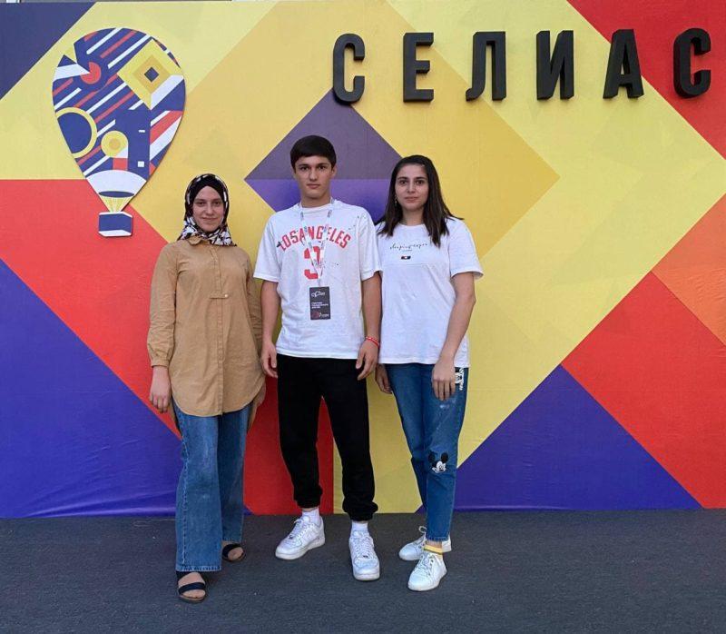 Студенты Астраханского ГМУ успешно проявили себя на Селиасе в гражданском форуме